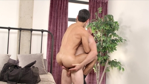 Next Door Raw - Brunette Donte Thick kissing each other scene
