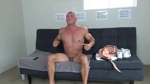 Next Door Casting: Athletic Brodie Daniels toys masturbation