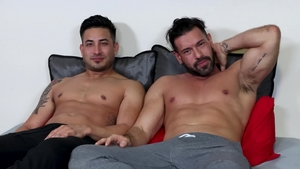 Extra Big Dicks - Alexander Garrett masturbation sex scene