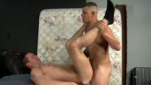MenOver30: Pierced Jace Chambers mature rimming video