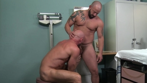 PrideStudios: Adam Ryker kissing each other sex scene