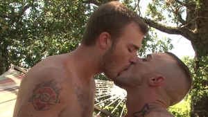 Falcon Studios: Hairy slut Christian Wilde goes in for nailing
