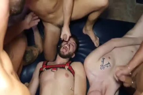 Barcelona Sex Shop - Allen King & Bastian Karim With 7 fellows
