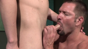 Raging Stallion - Andrew Justice giving head for balls