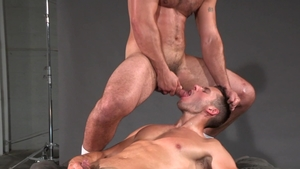 RagingStallion - Brenner Bolton demonstrates huge penis