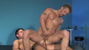 Raging Stallion - Thick Jimmy Durano hard teasing in club