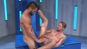 Raging Stallion - Wesley Woods and Adam Ramzi butt fuck