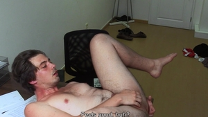 DirtyScout.com - Gay loves fucked by huge cock guy